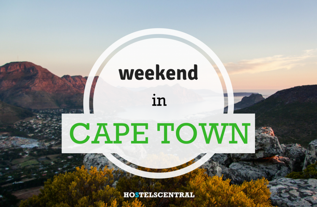 What to do in a weekend in Cape Town