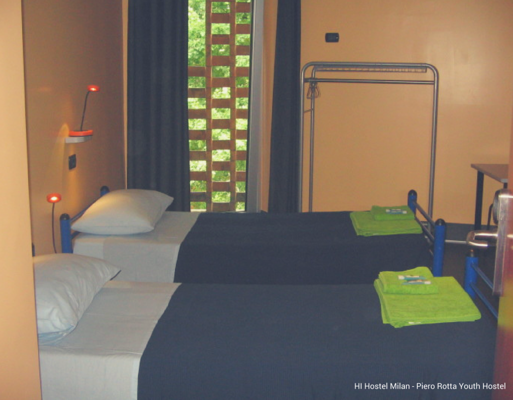 Top 5 hostels in milan according to costumers for Design hostel milano
