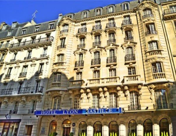Hotel lyon bastille paris frankreich hostelscentral for Frankreich hotel paris