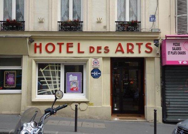 Hotel Des Arts Montmartre  Rue De Rochechouart