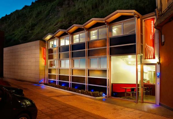 Hotel punta monp s san sebasti n spanien for Design hotels spanien