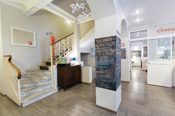 Tomato backpackers hotel turin italie hostelscentral for Hostel turin