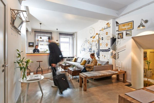 pyjama park hotel hostel hamburg deutschland. Black Bedroom Furniture Sets. Home Design Ideas