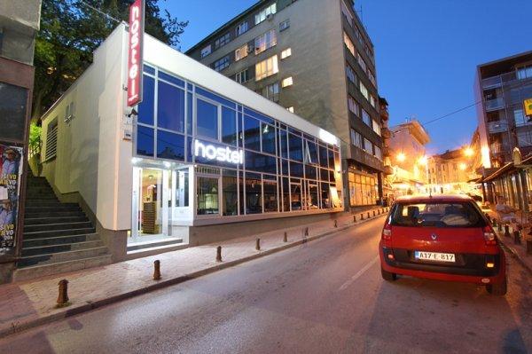 location of hostel massimo sarajevo bosnia and herzegovina en. Black Bedroom Furniture Sets. Home Design Ideas