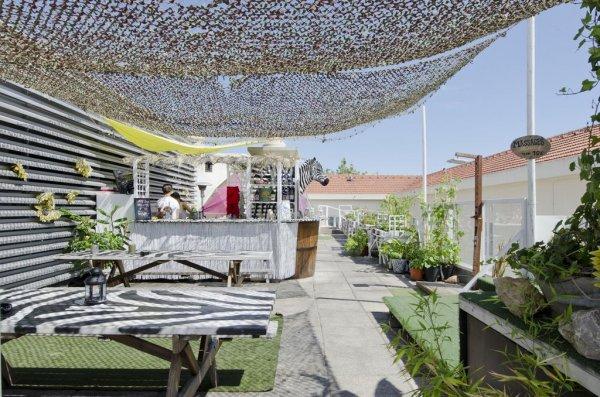 Sunset destination hostel lisbonne portugal - Residence belvedere vue pont golden gate ...