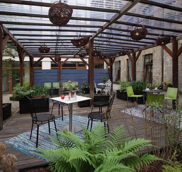 Wellton terrace design hotel riga lettland for Design hotel riga