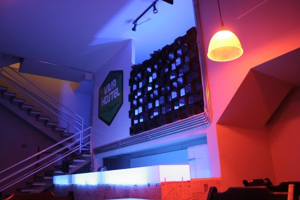 Viva hostel design san paolo brasile hostelscentral for Design hostel milano