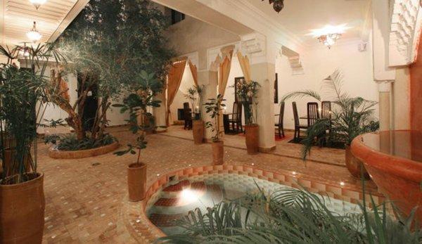 Riad dar foundouk and spa marrakech morocco for Salon paris marrakech