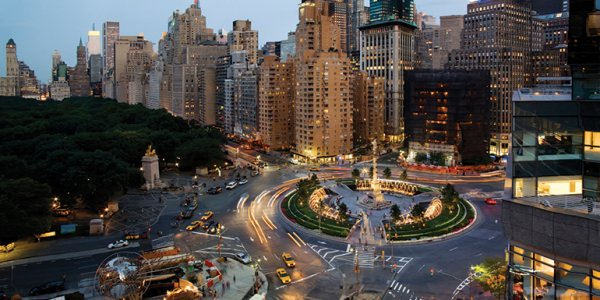 Jazz On Columbus Circle New York City Usa
