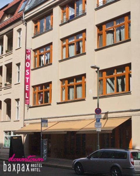 baxpax downtown hostel hotel berlin deutschland. Black Bedroom Furniture Sets. Home Design Ideas