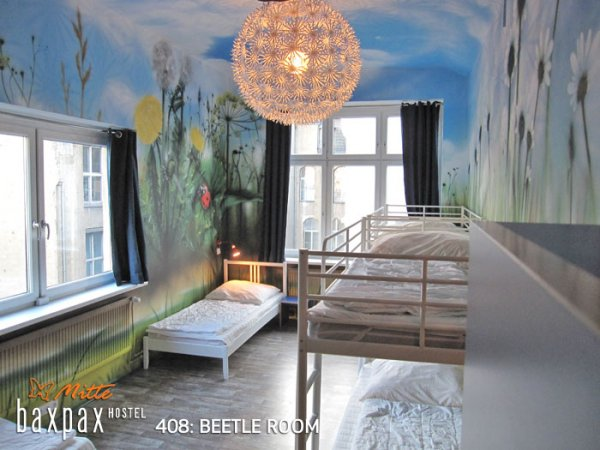 baxpax mitte hostel berlin germany. Black Bedroom Furniture Sets. Home Design Ideas