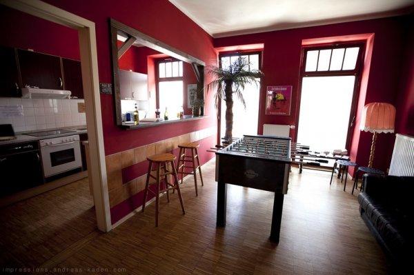 central globetrotter hostel leipzig germany en. Black Bedroom Furniture Sets. Home Design Ideas